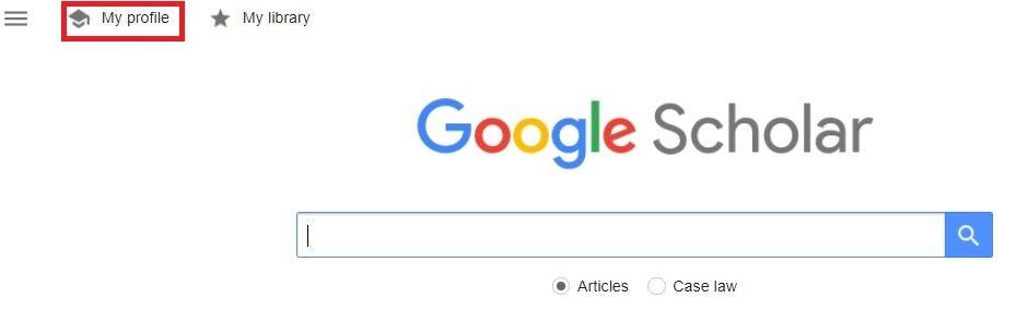 عضویت در سایت گوگل اسکولار