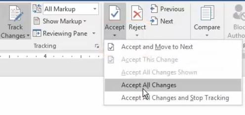پذیرش یا رد کلی ویرایش فایل ورد02